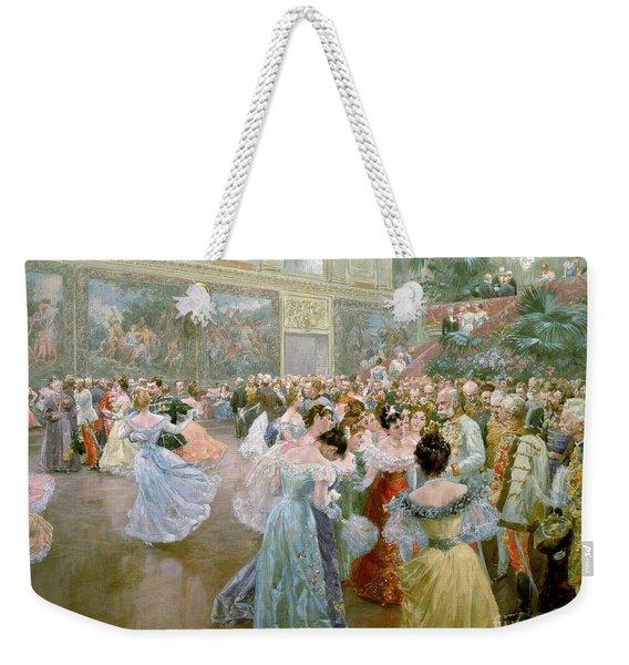 Court Ball At The Hofburg Weekender Tote Bag
