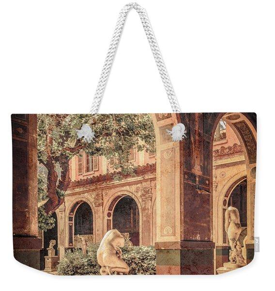 Paris, France - Courtyard West - L'ecole Des Beaux-arts Weekender Tote Bag