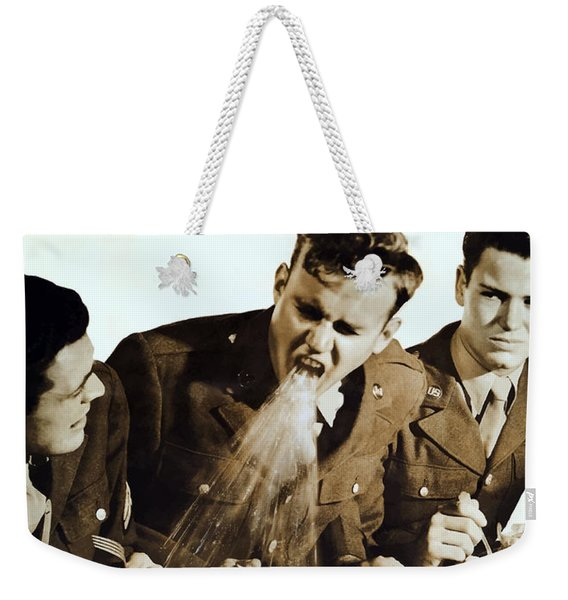 Cover Coughs Cover Sneezes Weekender Tote Bag