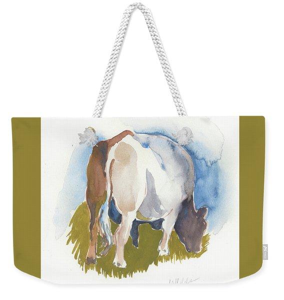 Cow I Weekender Tote Bag