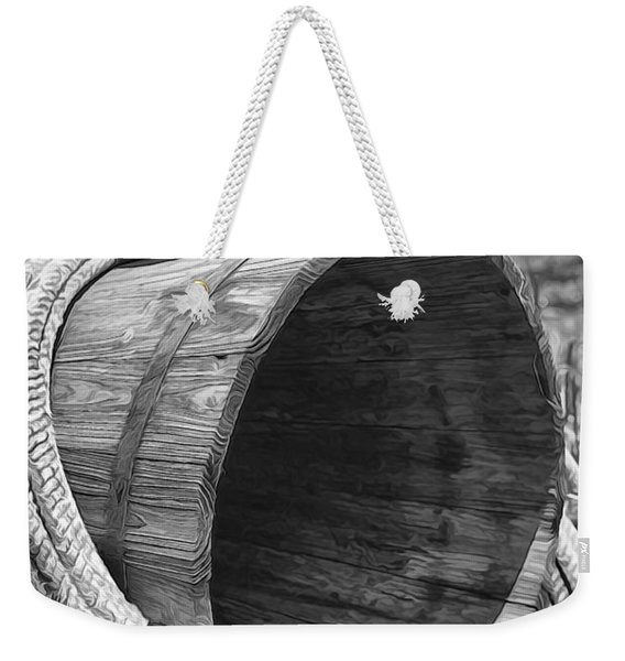 Cowboy Boots In Black And White Weekender Tote Bag