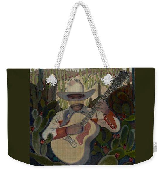 Cowboy In The Cactus Weekender Tote Bag