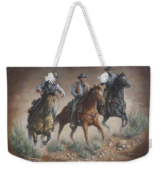 Cowboys Weekender Tote Bag