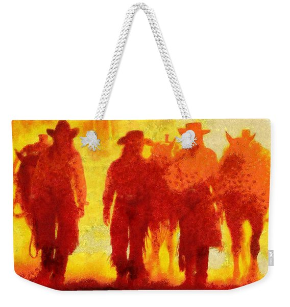 Cowpeople Weekender Tote Bag