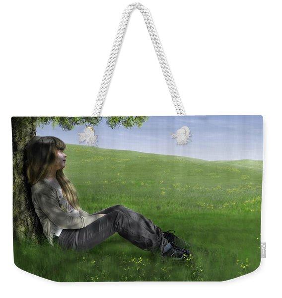 Cowslip Maiden Weekender Tote Bag