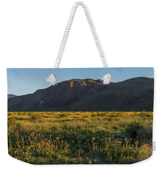 Coyote Mountain And Henderson Canyon Road Weekender Tote Bag
