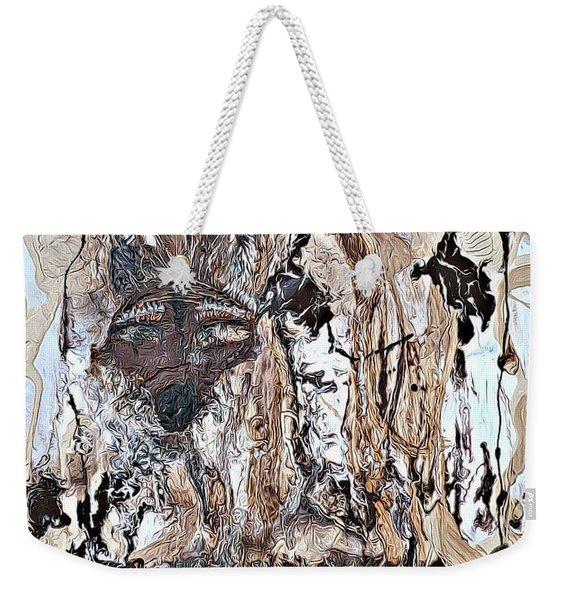 Coyote The Trickster Weekender Tote Bag