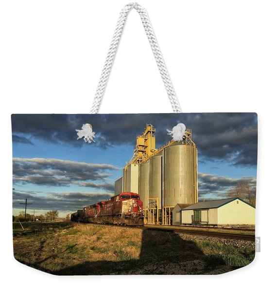 Cp Train Weekender Tote Bag