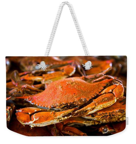 Crab Boil Weekender Tote Bag