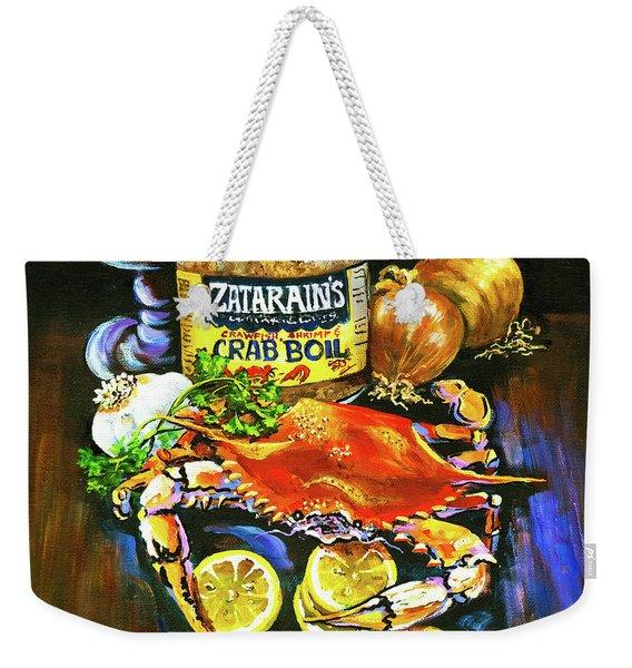 Crab Fixin's Weekender Tote Bag