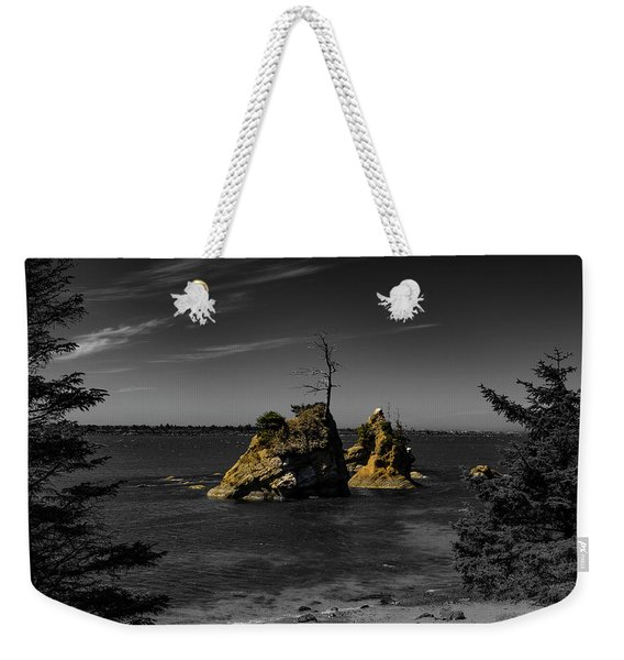 Crab Rock Weekender Tote Bag