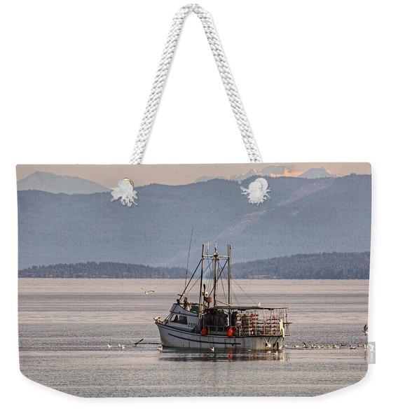 Crabbing Weekender Tote Bag