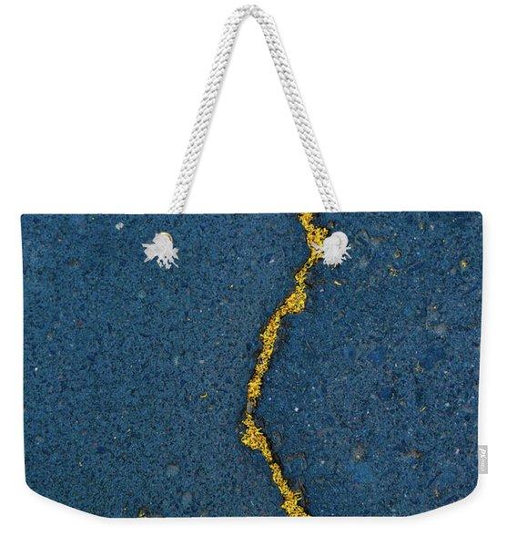 Cracked #2 Weekender Tote Bag