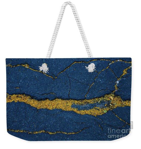 Cracked #6 Weekender Tote Bag