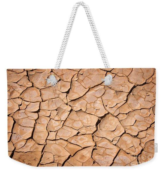 Cracked Weekender Tote Bag