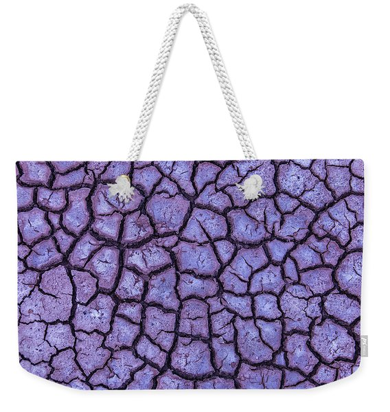 Cracked Dry Earth Weekender Tote Bag