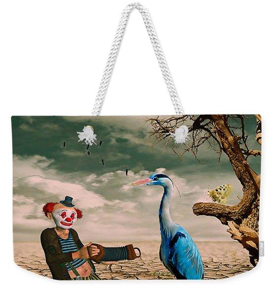 Cracked IIi - The Clown Weekender Tote Bag
