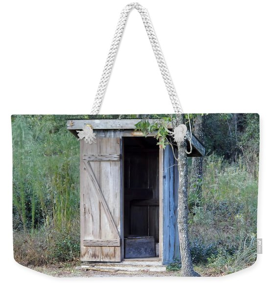 Cracker Out House Weekender Tote Bag