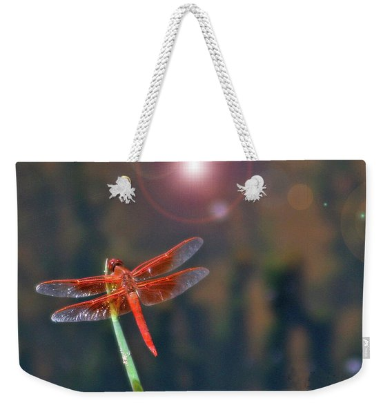 Crackerjack Dragonfly Weekender Tote Bag