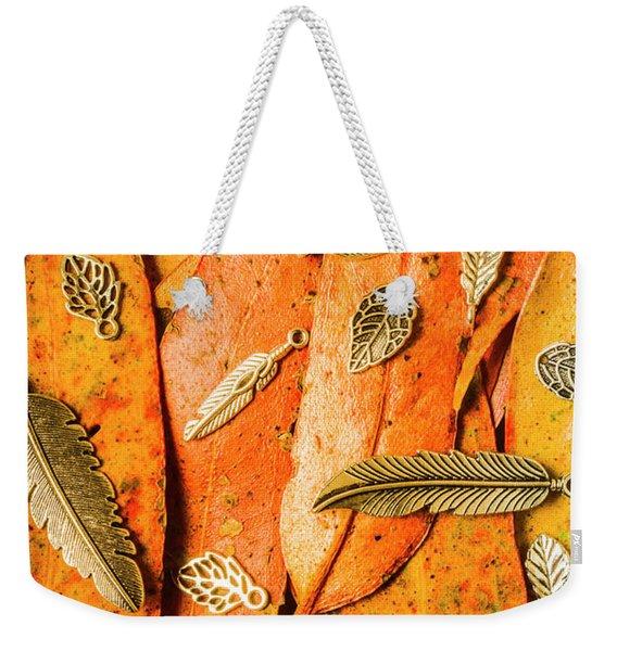 Craft In Fall Weekender Tote Bag