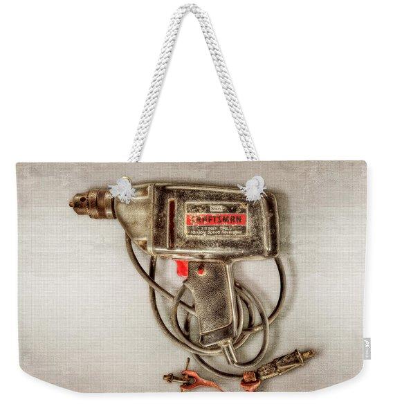 Craftsman Electric Drill Motor Weekender Tote Bag