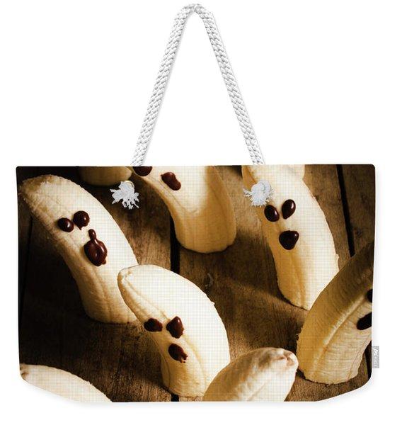 Crafty Ghost Bananas Weekender Tote Bag