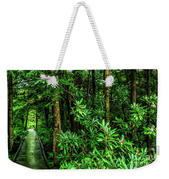 Cranberry Glades Boardwalk Weekender Tote Bag