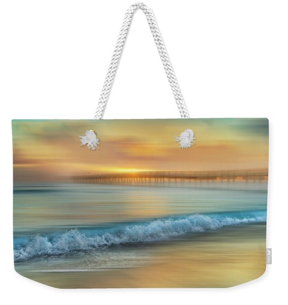 Crashing Waves At Sunrise Dreamscape Weekender Tote Bag