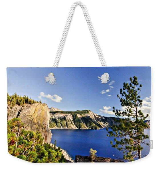 Crater Lake II Weekender Tote Bag