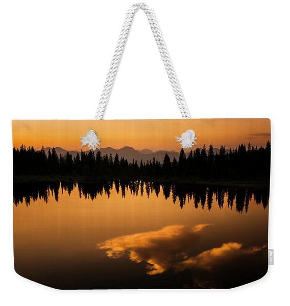 Crater Lake Sunset Weekender Tote Bag