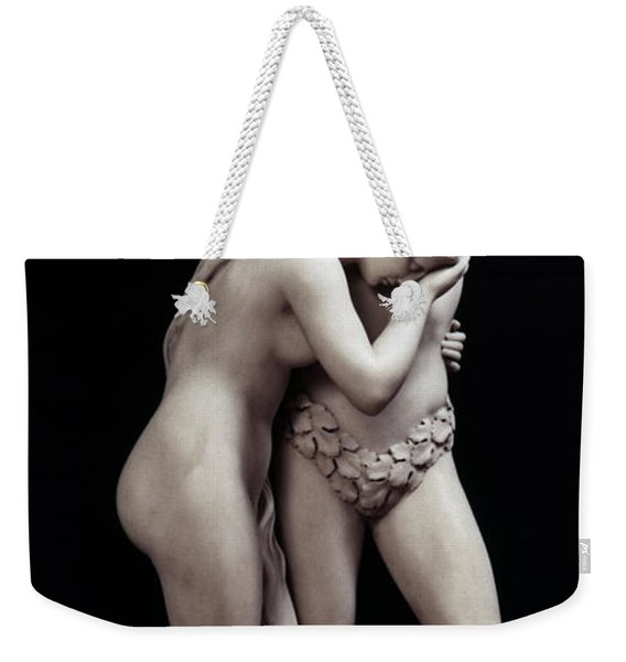 Crawford: Adam & Eve Weekender Tote Bag