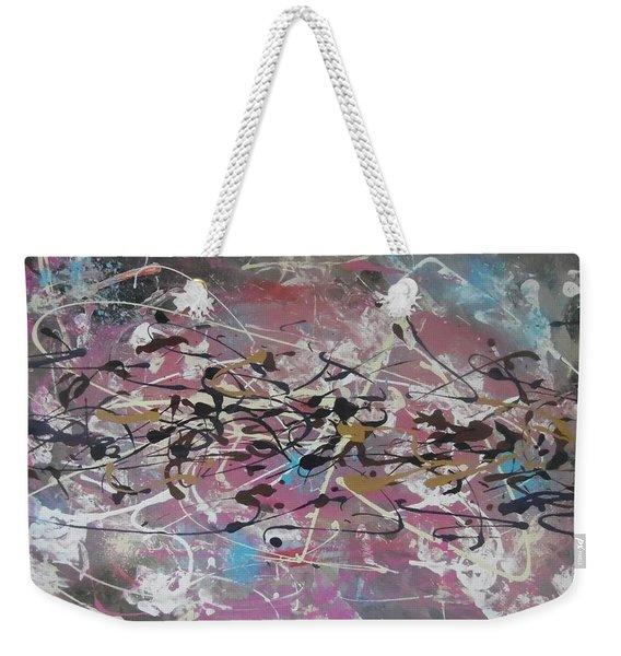 Crazy Afternoon Weekender Tote Bag