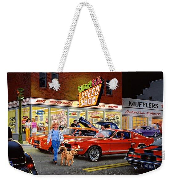 Crazy Eds Weekender Tote Bag