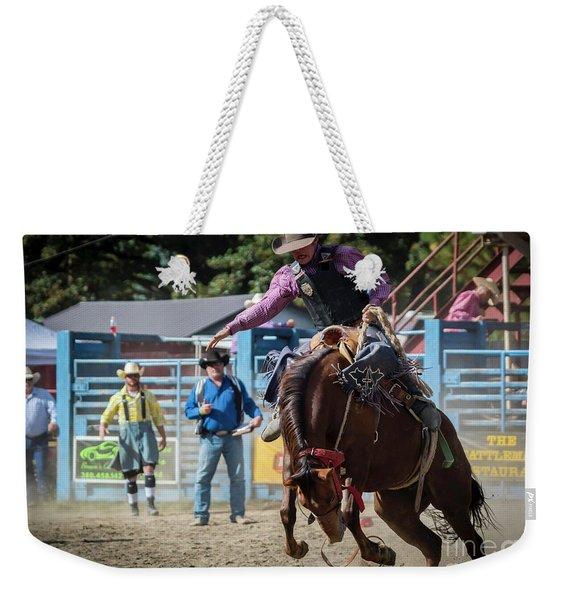 Crazy Horse Weekender Tote Bag