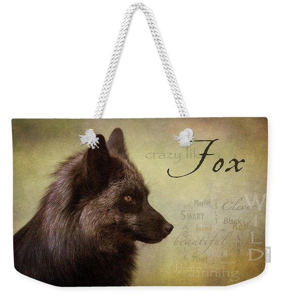 Crazy Like A Fox Weekender Tote Bag
