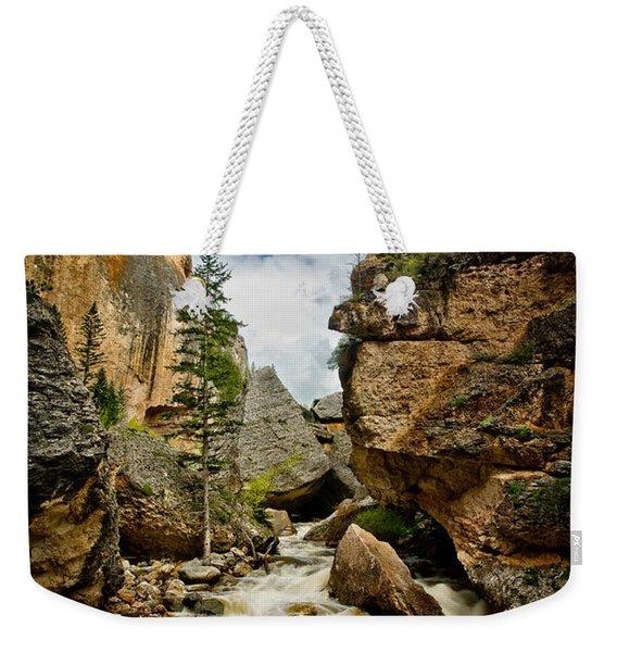 Crazy Woman Canyon Weekender Tote Bag