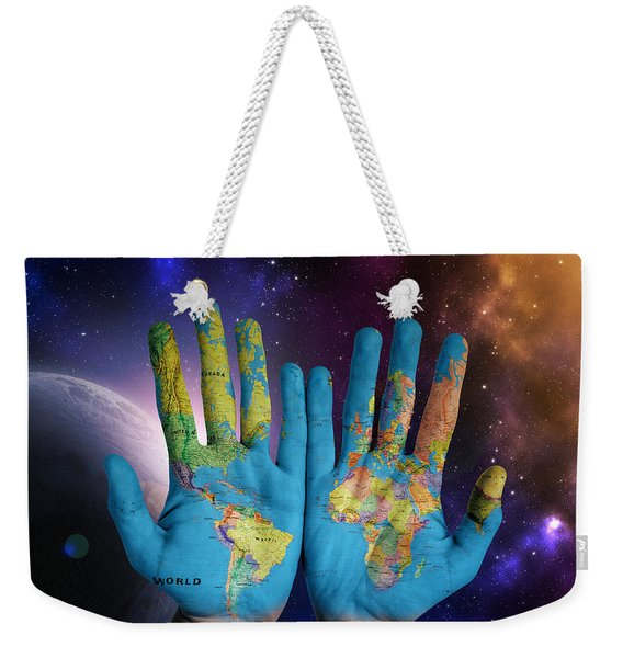 Created By God's Own Hands Weekender Tote Bag