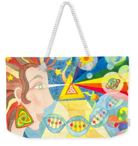 Creation Myth Weekender Tote Bag