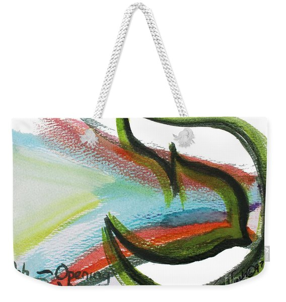 Creation Pey Weekender Tote Bag