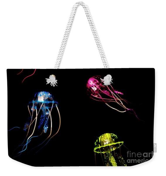 Creatures Of The Deep Weekender Tote Bag