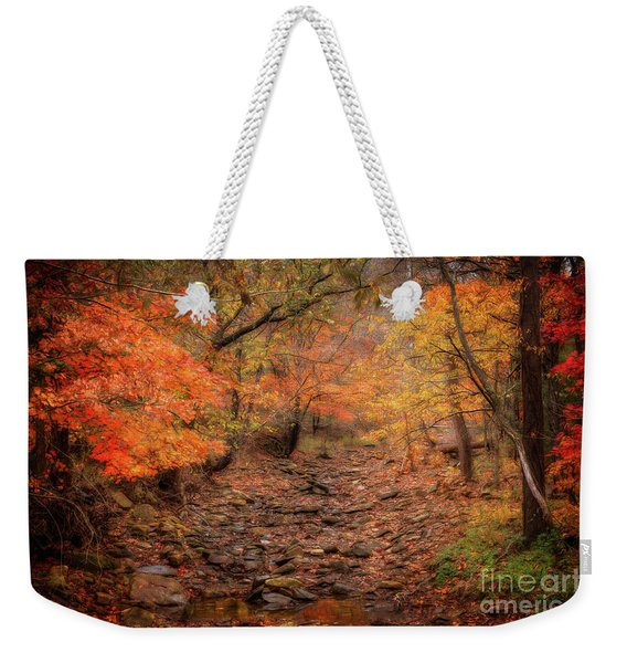 Creek Bottom Color Weekender Tote Bag