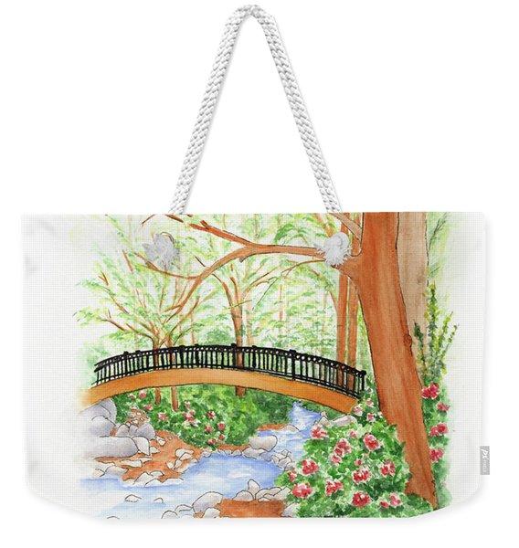 Creek Crossing Weekender Tote Bag