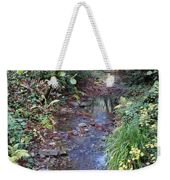 Creek On Mt Tamalpais 2 Weekender Tote Bag