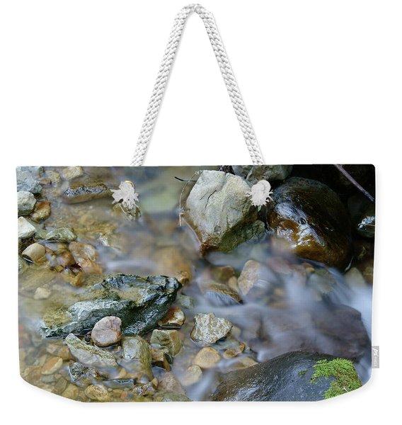 Creek On Mt Tamalpais Weekender Tote Bag