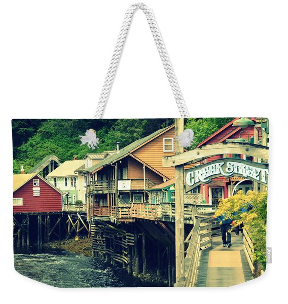 Creek Street Weekender Tote Bag