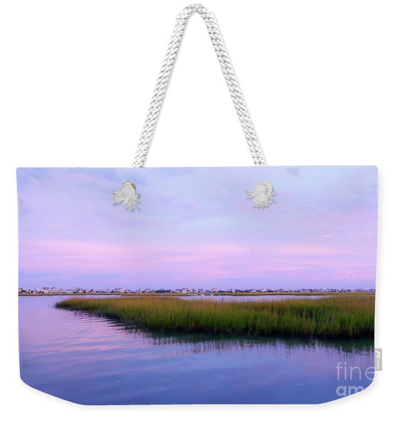 Creekside Evening Weekender Tote Bag
