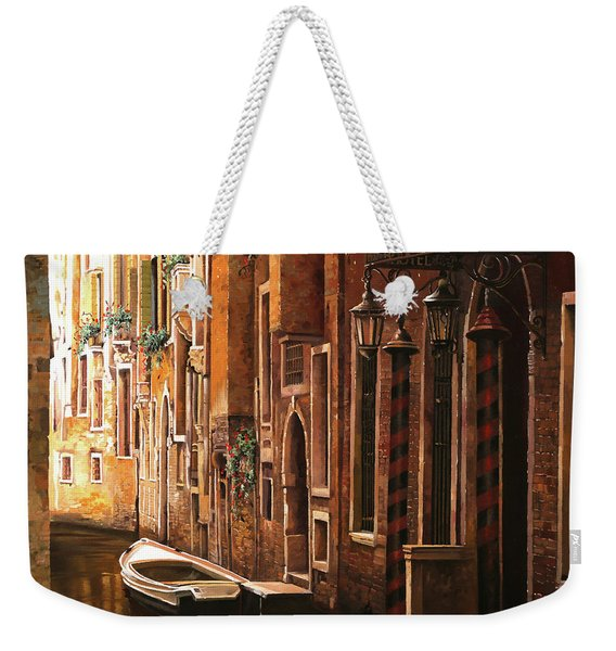 Crema Veneziana Weekender Tote Bag