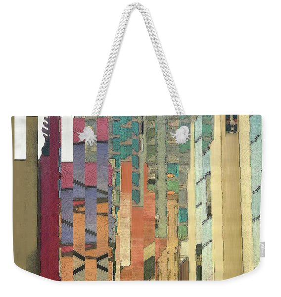 Crenellations Weekender Tote Bag