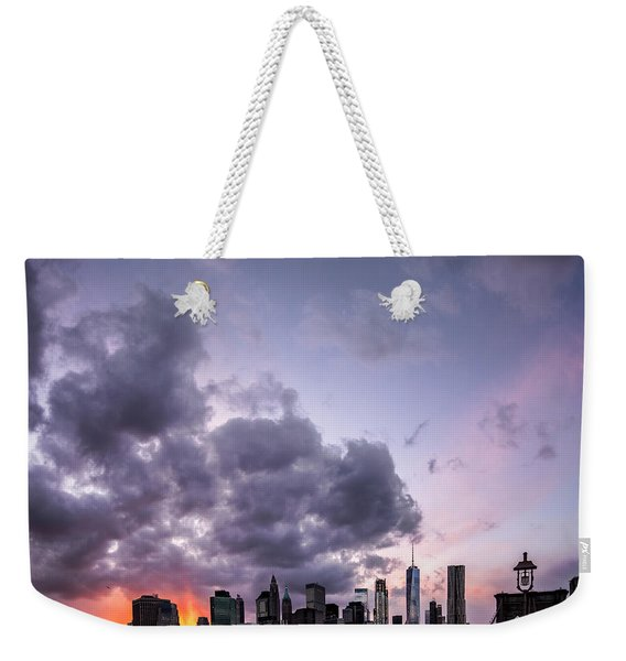 Crepsucular Nights Weekender Tote Bag