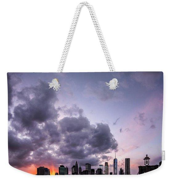 Crepsucular Nights Weekender Tote Bag